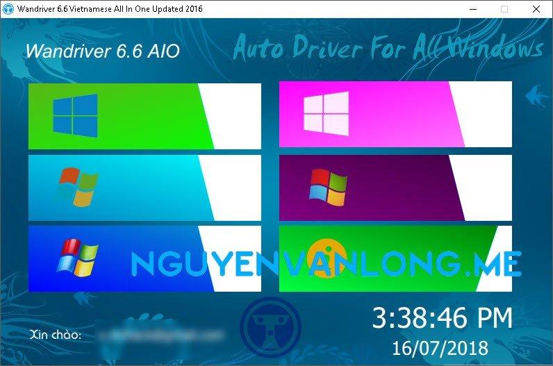 Văn Long Blog Tổng hợp WanDriver, Easy Driver tất cả các phiên bản 6.x, 7x Việt Hóa Driver Cứu Hộ Máy Tính Phần Mềm  Driver