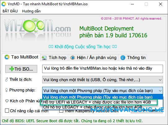Văn Long Blog #6 Hướng Dẫn Tạo USB BOOT Đa Chức Năng: DLC Boot, Anh-DV Boot, VN Zoom Boot, HirenBoot Hướng Dẫn Tự Cứu Hộ Máy Tính Toàn Tập Cứu Hộ Máy Tính  USB BOOT Tự Cứu Hộ Máy Tính Hướng Dẫn